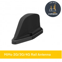 TRNM[G]-7-60-NJ | MiMo 2G/3G/4G Rail Antenna with optional GNSS